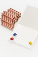 ノート 色鉛筆