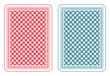 Playing cards back epsilon - 70126913