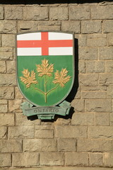 Coat of Arms for the Canadian province of  Ontario.
