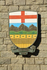 Coat of Arms for the province of Alberta,Canada