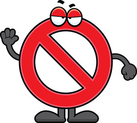 No Sign Angry