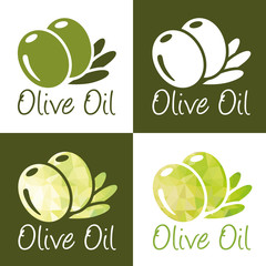 olive oil icons