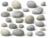 Fototapety Rock set
