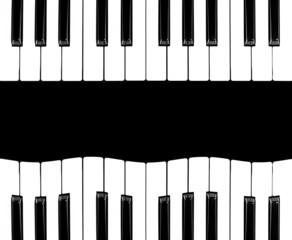 Piano isolated