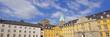 canvas print picture - Folkwang Universität  u. Benediktinerkloster ESSEN-WERDEN