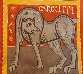 Romanesque church Sant Joan de Boi,la Vall de Boi, Spain