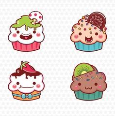 cupcake cartoon 07