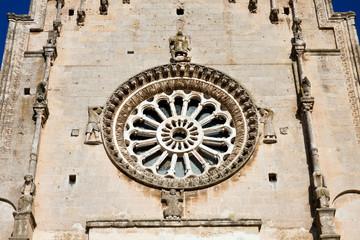 Matera, il rosone della Cattedrale