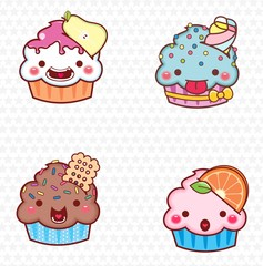 cupcake cartoon 09