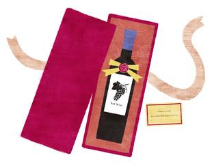 赤ワインのプレゼント
