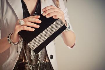 Ladies' handbag 785.