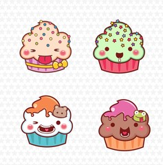 cupcake cartoon 11