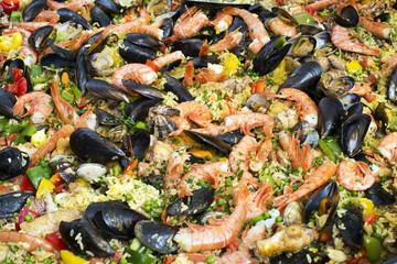 paella background
