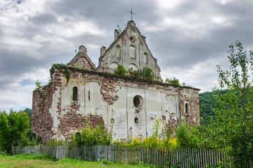Ruin of a medieval church
