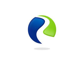 road sign round symbol business logo