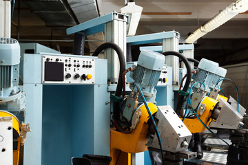 Modern equipment for production of boots