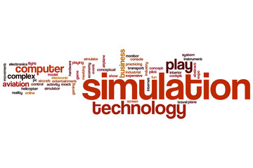 Simulation word cloud