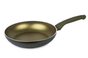 Frying pan with ceramic non-stick coating