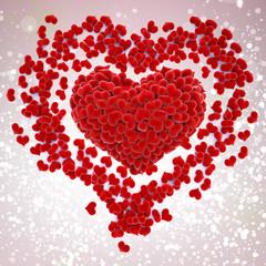 Kırmızı Kalpler, Sevgililer günü kartı