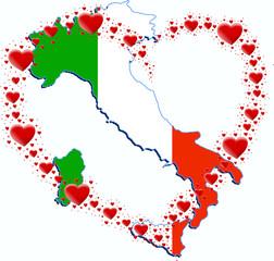 Włochy i serce z serc