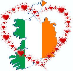 Irlandia i serce z serc