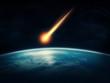 Leinwanddruck Bild - Meteor