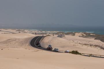 Wüste und Meer - Kontraste