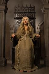 nun on the royal throne