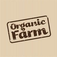 Organic Farm Fresh Healthy Food Eco Green Vector Concept