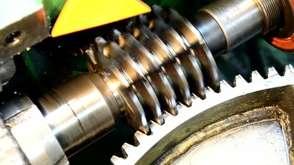 cogwheel production and service industrial machine