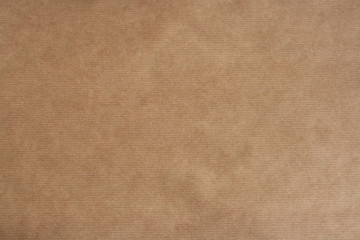 brown sriped kraft paper texture or background
