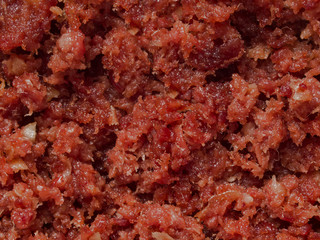 minced corned beef