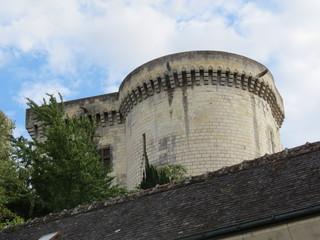 Indre-et-Loire - Loches - Donjon -Tour ronde