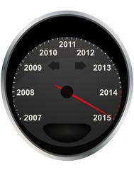 2015 odometer
