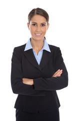 Bewerbungsfoto einer jungen Business Frau