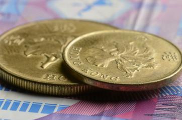 Hong Kong dollar 香港圓 Hongkong 香港ドル דולר הונג קונגי