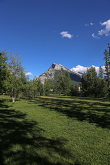 Rundle and Banff Central Park