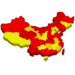 中国 地図 国