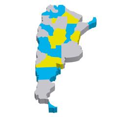 アルゼンチン 地図 国