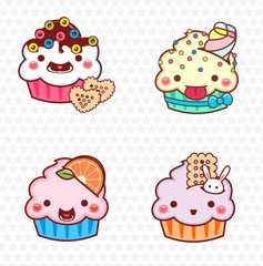 cupcake cartoon 15