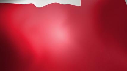England Flag - looping, waving