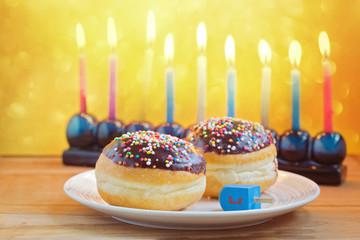 Jewish holiday Hanukkah celebration