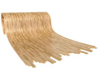 wooden floor, rool parquet