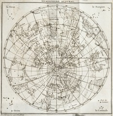 old sky map