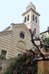 Church in Portofino, Italy