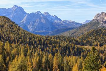 Alp mountain view
