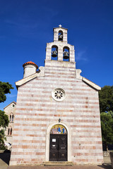 Orthodox Church of Holy Trinity (Crkva Sv. Trojice) in Budva.