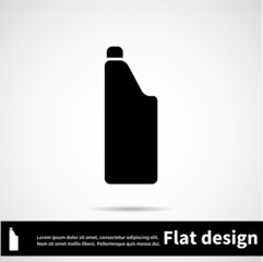 Icon flat design for use in your business projects