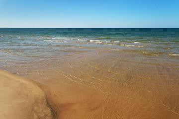 Cold Baltic sea.