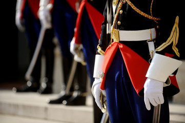 Ceremonial guards of honor